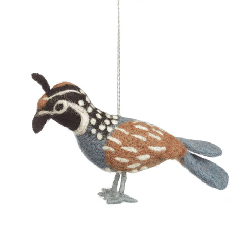 Partridge Christmas Tree Decoration | Fair Trade Home Decor