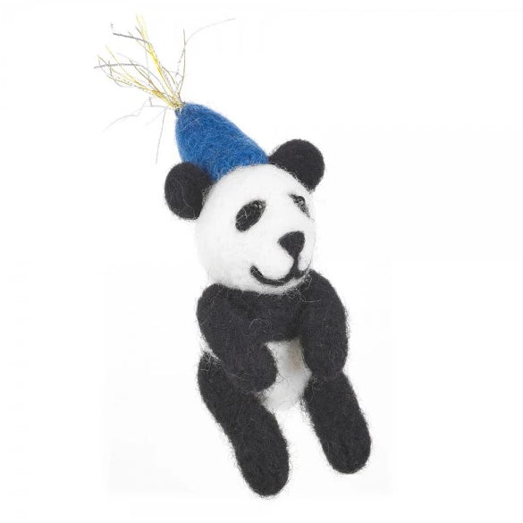 Party Panda Festive Decoration | Animal Christmas Decorations