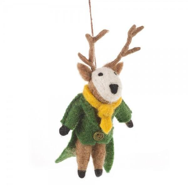 Stage Christmas Tree Decoration | Festive Animal Home Decor