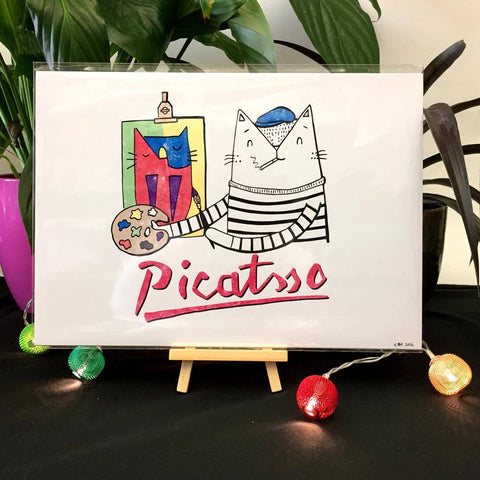 Picattso Cat Print | Gifts for Animal Lovers