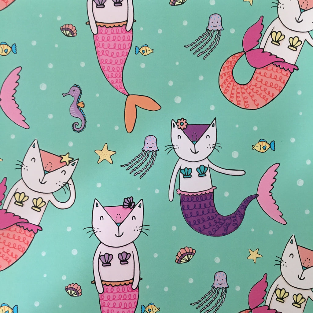 Purrmaid Gift Wrap | Gifts for Animal Lovers
