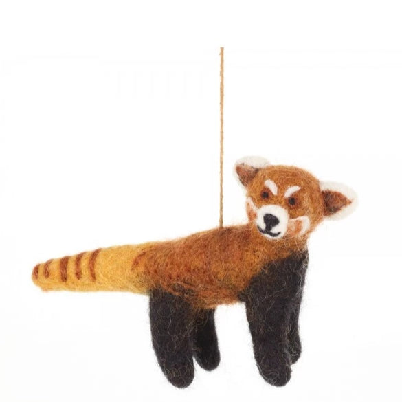 Red Panda Christmas Decoration | Unique Festive Decor