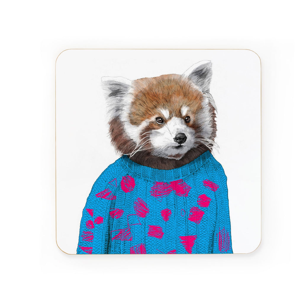 Red Panda Coaster | Gifts for Animal Lovers
