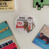 Rowan Catkinson Fridge Magnet | Mr Bean in Cat Form