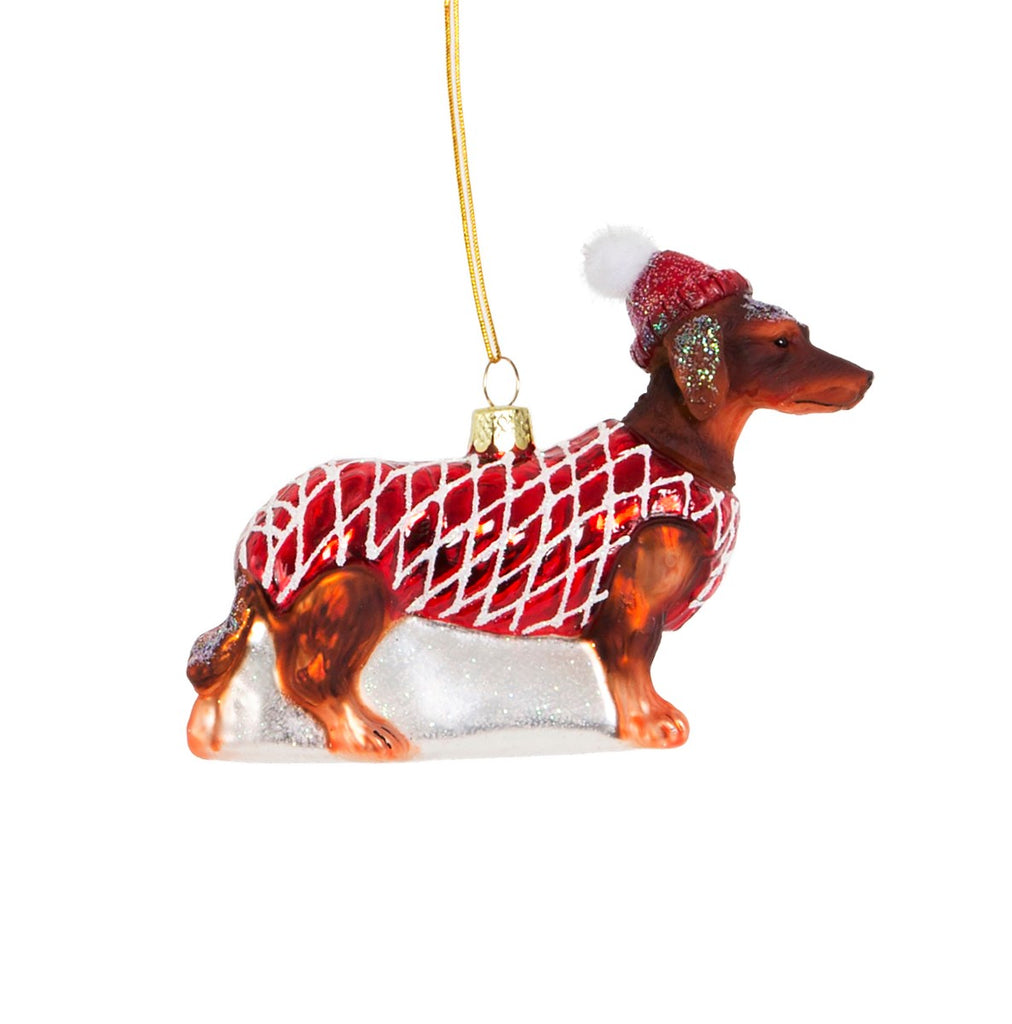 Dachshund Christmas Dog Decoration | Gifts for Dog Lovers