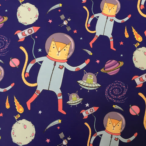 Catstronaut Gift Wrap | Gifts for Animal Lovers