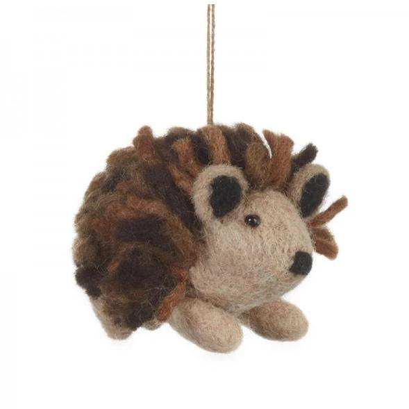 Hedgehog Christmas Tree Decoration | Fair Trade Gifts