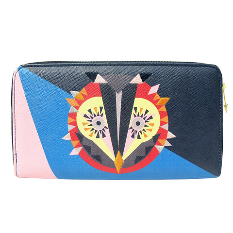 Geometric Owl Wallet by Disaster Designs | Owl Themed Gifts