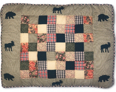 Moose Medley Quilted Bed
