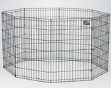 Pet Exercise Pen - Black E-Coat