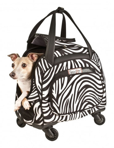Snoozer Cooper Four-Wheeled Pet Bag