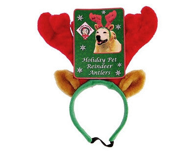 Holiday Antlers for Dogs