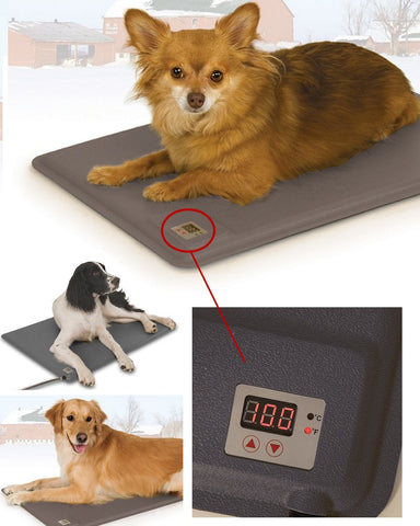 Deluxe Adjustable Temperature Heated Pads & Dog House Heaters