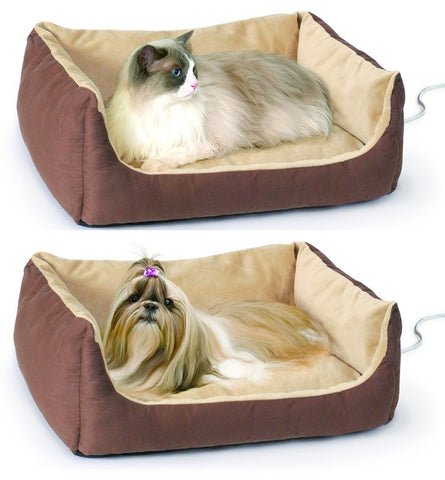 Thermo Heated Pet Cuddle Cushion