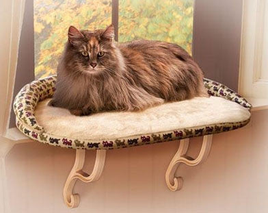 Lectro Kennel Deluxe Kitty Sill Cat Window Perch