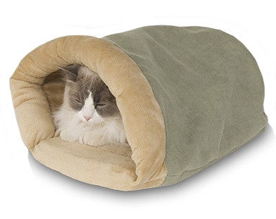 Lectro Kennel Crinkle Sack Heated Cat Hideaway