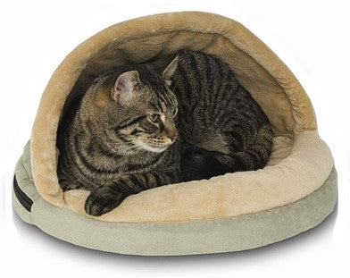 Lectro Kennel Thermo Hut Heated Cat Bed