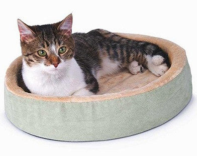 Lectro Kennel Thermo Cuddle Up Heated Cat Bed