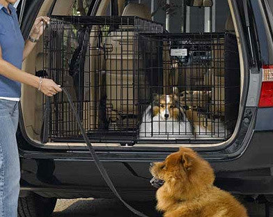 Midwest Side-by-Side Double Door SUV Pet Crate