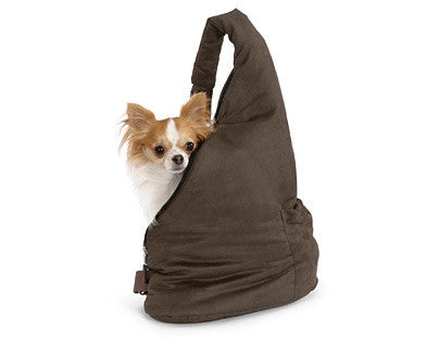 Pet Ego Velvet Messenger Soft Pouch Pet Carrier