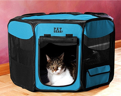Pet Gear Travel Lite Octagon Soft-Sided Pet Pen