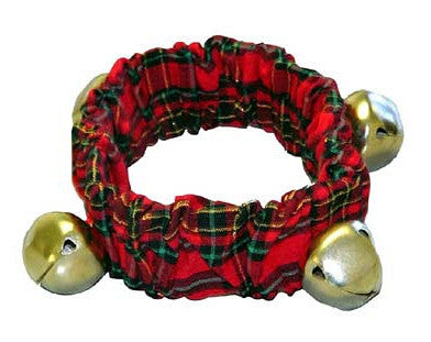 Plaid Bell Collar