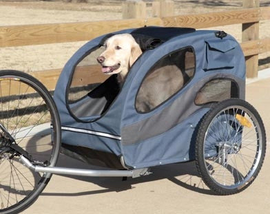 Solvit HoundAbout Classic Pet Bicycle Trailer - Steel frame