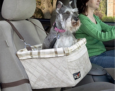 Solvit Tagalong Pet Booster Seat - Deluxe