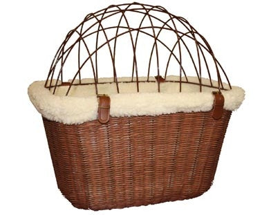 Wire Safety Cage for Solvit Wicker Bike Basket