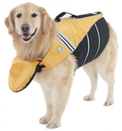 digPets Sunset Yellow Flotation Jacket