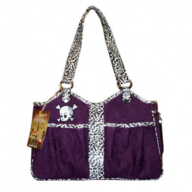 Bon Ami Punky Skully Pet Carrier