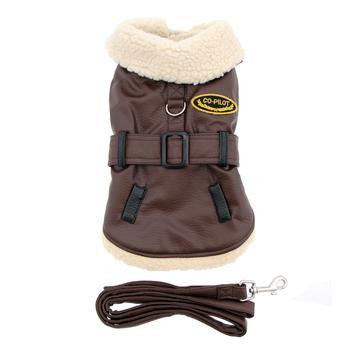 Bomber Dog Coat Harness and Leash