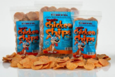 Dog Chicken Chip Treats