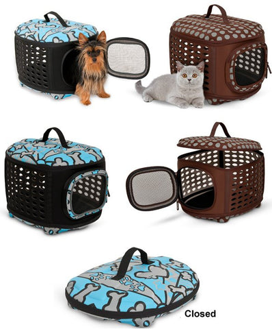 Curvations Luxury Pet Carrier for Small Pets