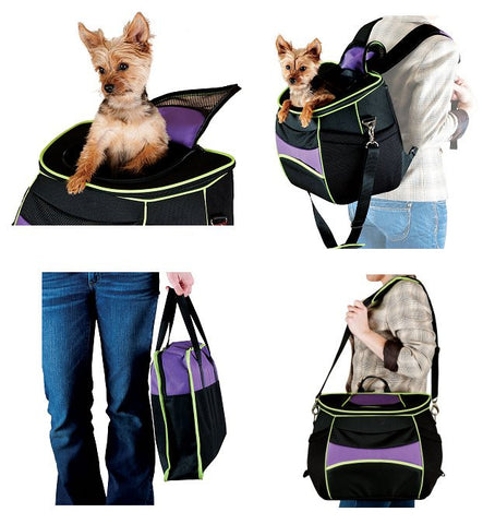 Comfy Go Backpack Dog Carrier