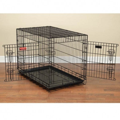 ProSelect Everlasting Dual-Door Folding Dog Crate