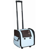 The Pet Life Wheeled Airline Approved Pet Carrier