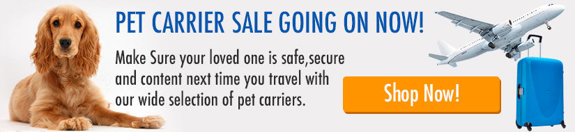 Pet Carrier Sale