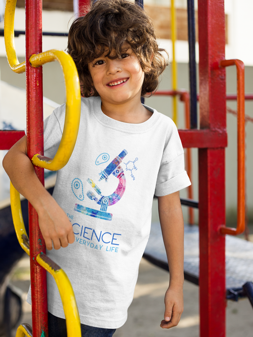 Boys Microscope Tee