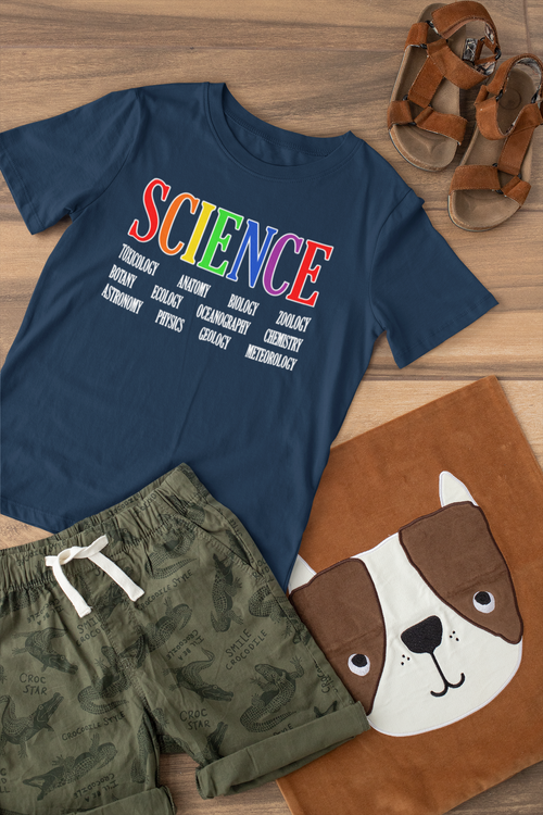 SCIENCE Youth Tee - Cobalt Blue
