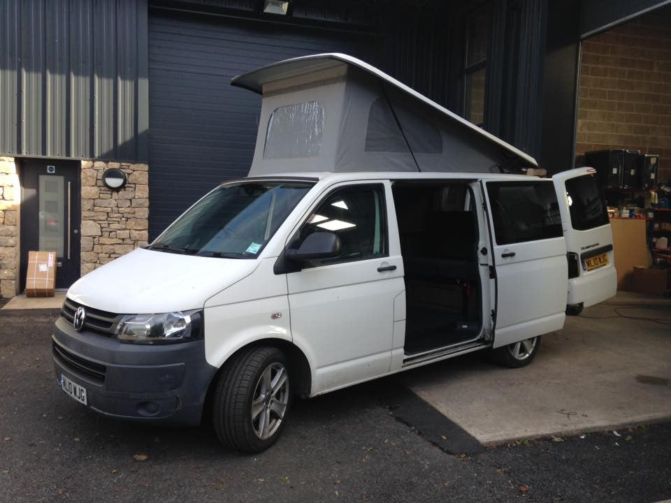 The Albions' Early T5 Camper Conversion