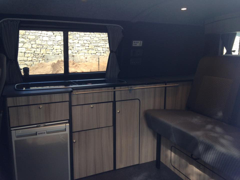 James And Dannis Late T5 Camper Van Conversion