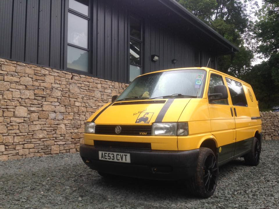 Kev Kendal's T4 Conversion - Beatrix The Big Yellow Taxi
