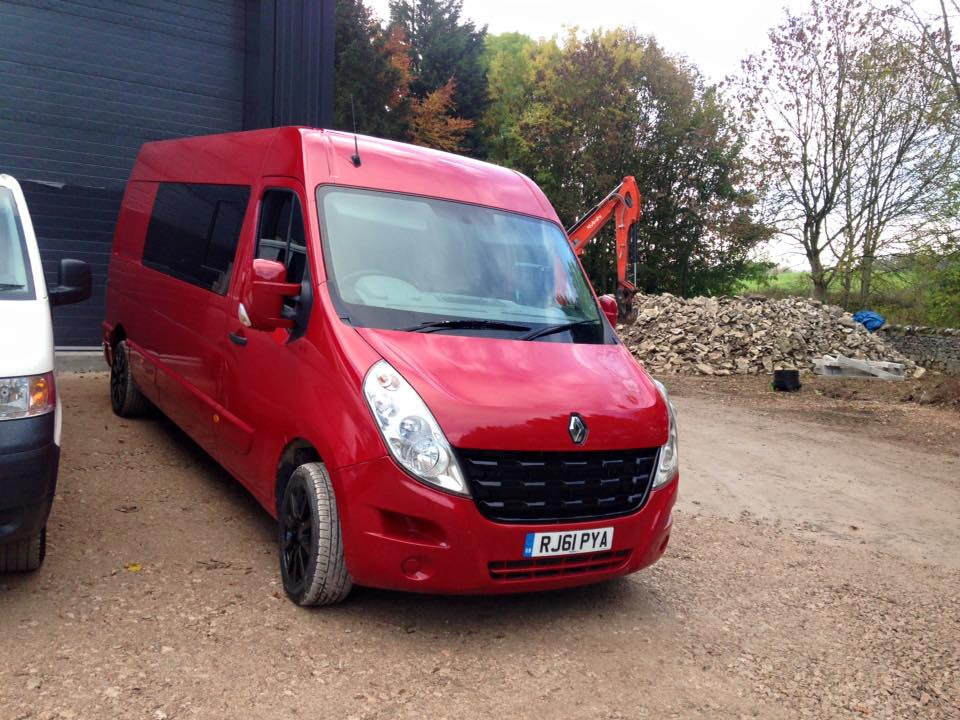 Renault Master Camper Van Conversion - Part 2