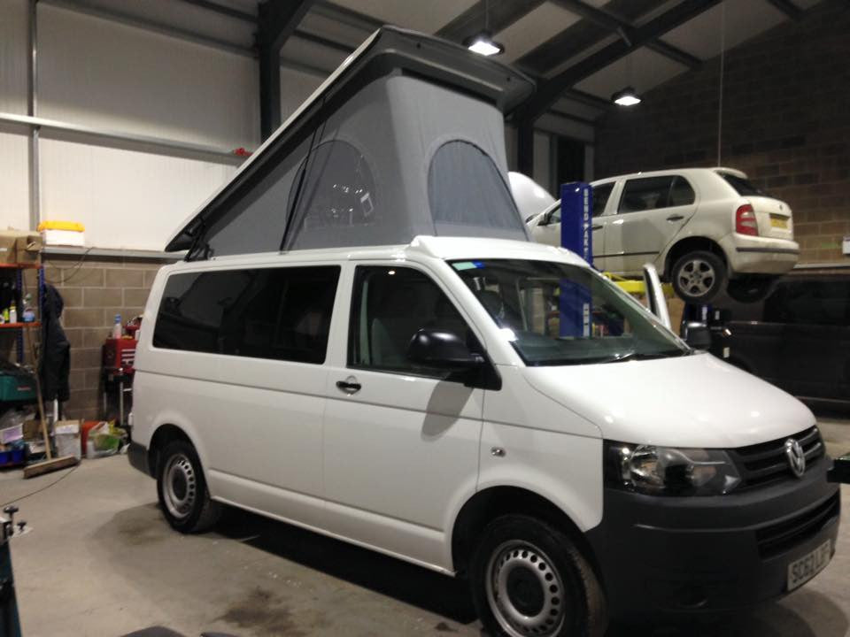 VW T5 SCA Roof And Full Camper Conversion