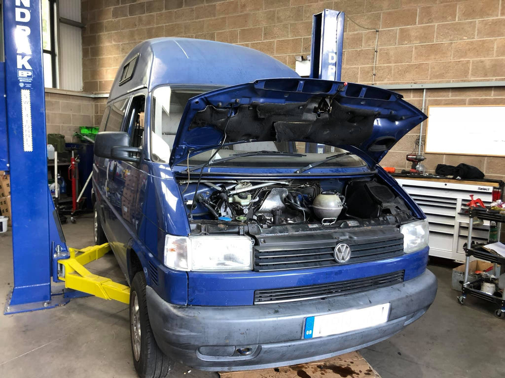 Mr H's VW Transporter T4 Engine and Cylinder Head Replacement