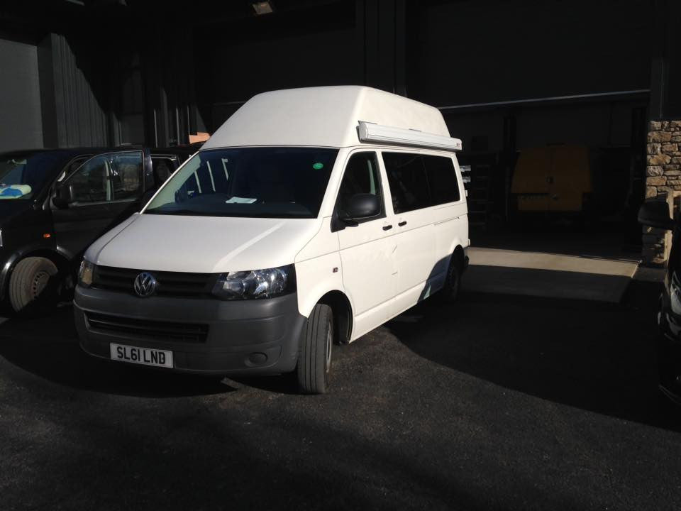 VW T5 LWB Factory High Top Conversion