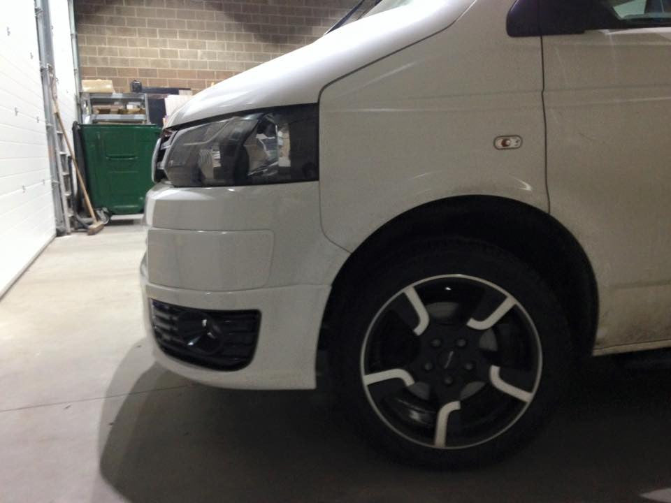 VW Sportline Kombi Bodykit And Wheels