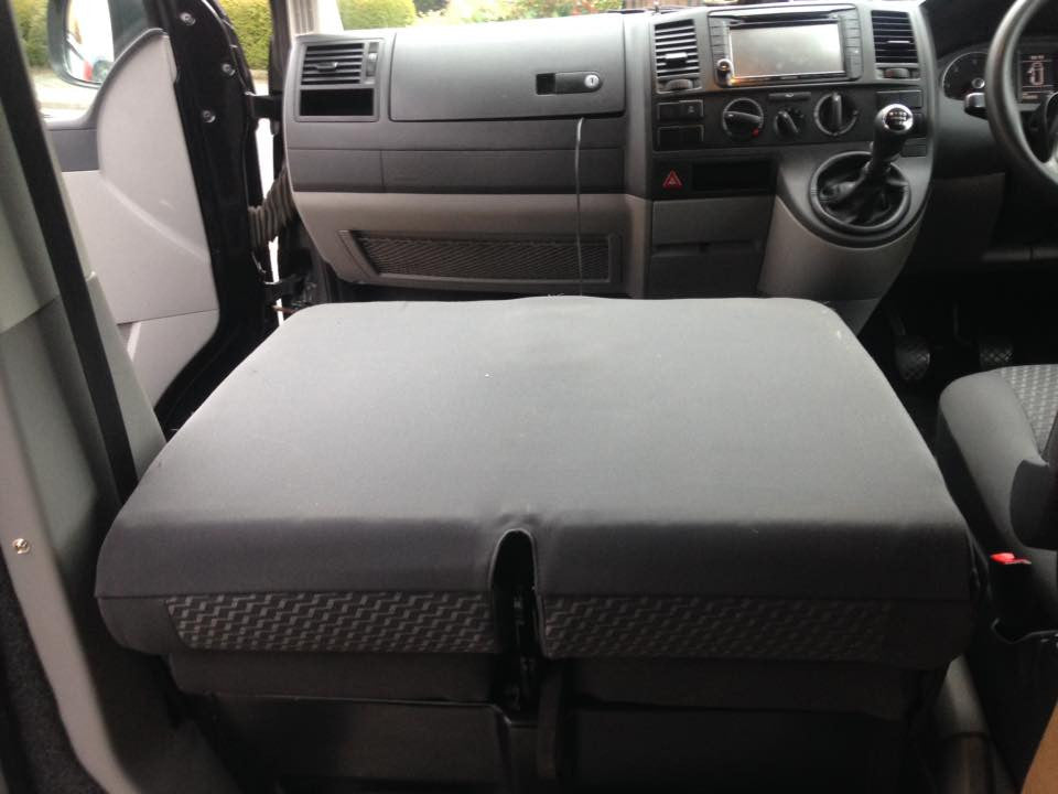 Volkswagen T5 T6 Fold Down Front Seats Sj Campers