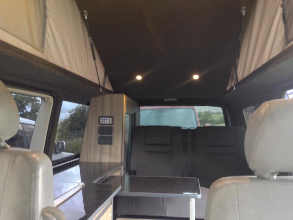 Richard's LWB Transporter Conversion — SJ Campers